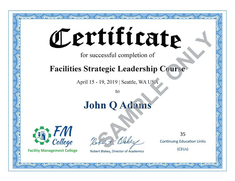 fm certificate college completion sample ceus continuing courses units education link